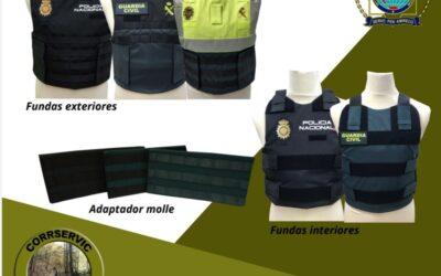 CONVENIO CON EMPRESA MATERIAL DE SEGURIDAD PARA POLICÍAS CORRSERVIC CAZA S.L.