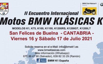 II Encuentro Internacional Motos BMW Klásicas K