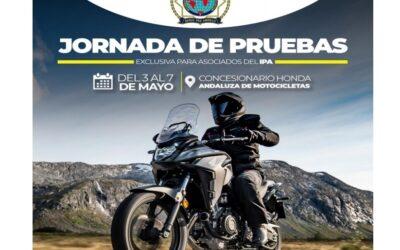 Jornada de pruebas de motocicletas Honda