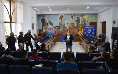 Rincón de la Victoria acoge un curso nacional con una veintena de policías sobre progresión e intervención en inmuebles